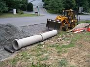 Drainage & New Driveway